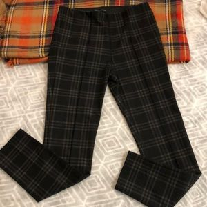 Anthropologie Sanctuary Plaid Leggings M